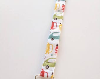 Baby Pacifier Clip in Cars, Ready to Ship, Soother Clip, Baby Boy Pacifier Clip, MAM Pacifier, Boy Clip, Baby Boy Teether Clip, Boy Clip