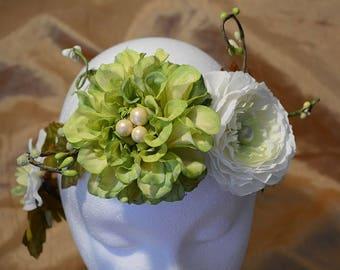 SALE! Flower Crown, Bridal Shower, Bride to Be, Baby Shower, Mom to Be, Boho Crown, Rose Flower Crown, Rustic Crown, Sweet 15 16, Birthday