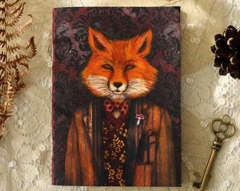 Notebook - Portrait of The Mysterious Lord Fox