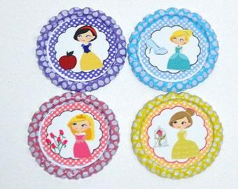 Princess Bottle Caps