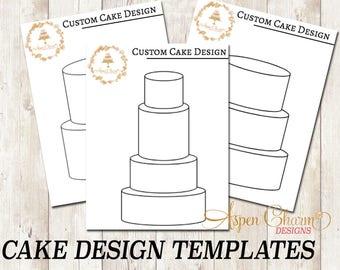Custom Cake Design Sketch Templates, Rolkem, Molds,Fondant,Dust,Sugar Flower, Gumpaste,Cake Decorating,Sprinkles