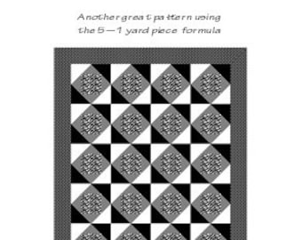 Featured - Five Yard Quilt Pattern