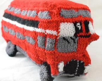 London Routemaster Bus Knitting Pattern