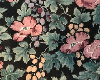 Vintage 1.5 yards fabric