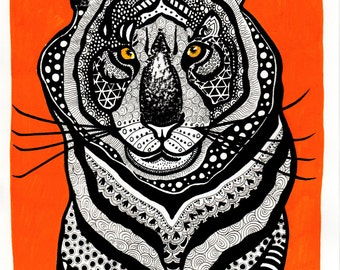 Tiger Digital Print