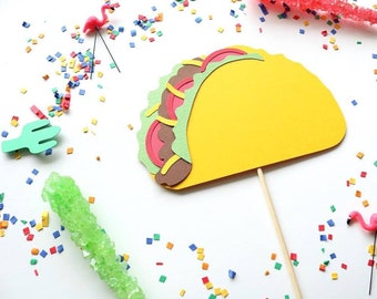 Taco Cake Topper , Taco Twosday, Fiesta Party, Cinco de mayo, Taco Bout A Party, Taco Tuesday