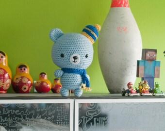 Amigurumi Winter Bear - Crochet Pattern