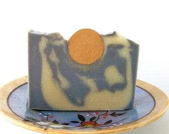 Blue Skies---Handmade Soap, Luxury, Cold Process, Vegetarian, Essential Oils