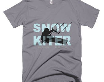Snow Kiter, high quality T shirt from American Apparel