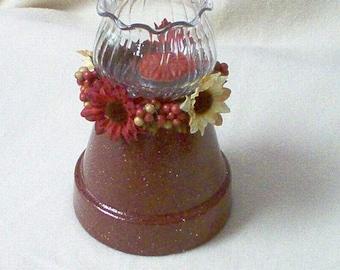 Burgundy Votive