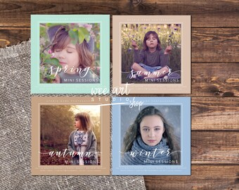 MINI SESSION TEMPLATES
