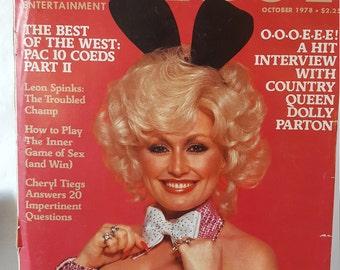 Vintage Playboy Magazine October 1978