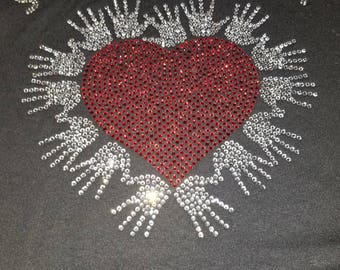 Social Worker- 1 Heart with Many HANDS