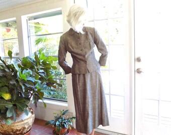 Vintage Connoisseur Weathervane Handmacher suit 1950's lightweight: medium