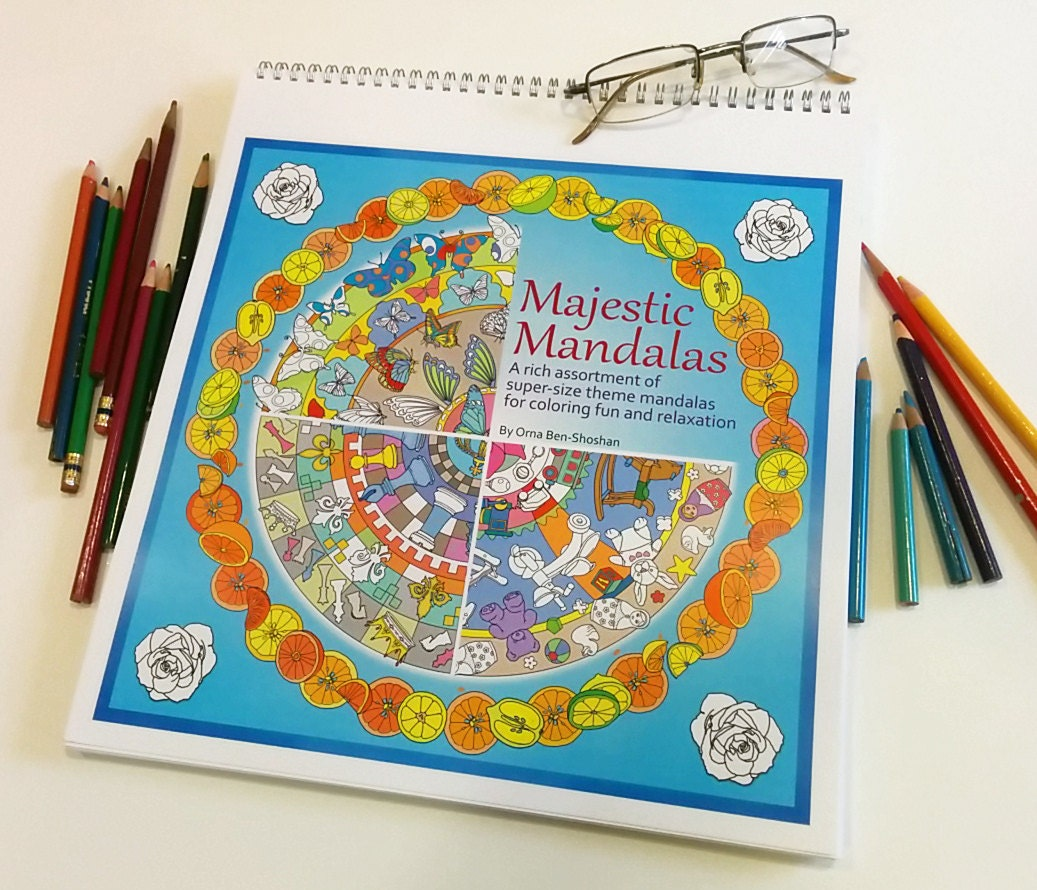 The Largest Mandala Coloring Book You Will Ever Find Majestic