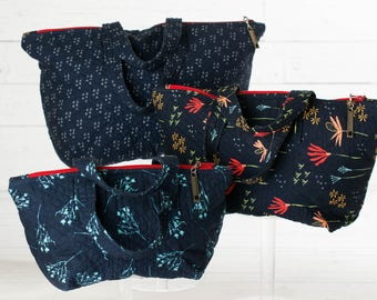 Designer Fabric Quilted Bags