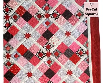 Prince Charming In Plaid - Quilt Top Pattern 50% OFF