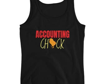 accounting tank - accounting - accounting ninja - accounting chick - accounting chick tank - chick - lady accountant - lady chick tank