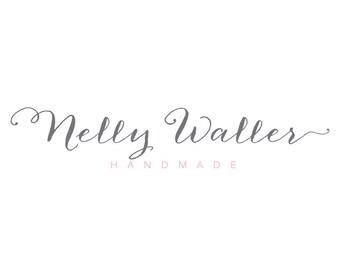 Calligraphy Logo - Photography Script Watermark - Premade Typography Logo - Watermark Photography Logo - Premade Typography Logo