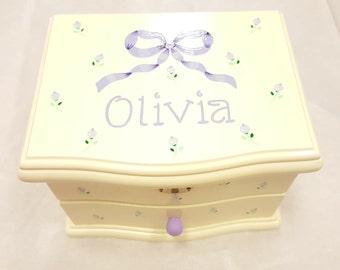 Personalized Musical Jewelry Box