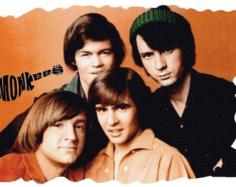 The Monkees # 10  8 x 10 - T Shirt Iron On Transfer