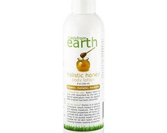 Organic Honey Body Lotion - Organic, Holistic & Healthy