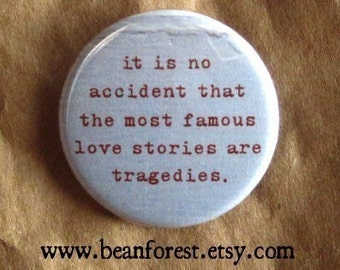 the most famous love stories are tragedies