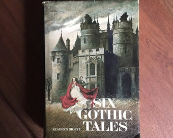 Gothic Stories Vintage Readers' Digest Collection, 6 Gothic Tales, Daphne De Maurier, Evelyn Anthony, Victoria Holt, Hardback, Illustrated,