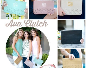 Monogrammed clutch, monogrammed purse, personalize pocketbook, personalized clutch, ladies purse, ladies pocketbook, Mother's Day gifts
