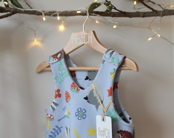 SALE Rompers / Dungarees by HatCH - Various Prints for Baby and Toddler