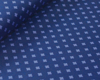 Club Havana Cross Navy, by Patty Young for Riley Blake Designs--Fabric by the Yard--C7285-NAVY