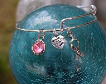 Breast Cancer Hope Bracelet