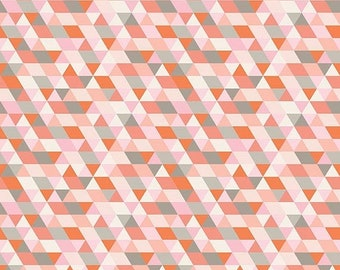 EXTRA 20 30% OFF Ava Rose By Deena Rutter Geometric Coral