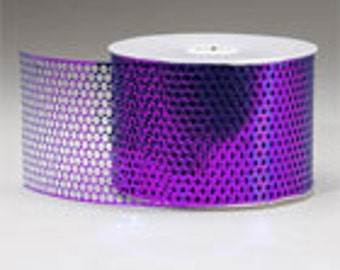 "Honeycomb(Punchinello) 3-1/2"" x 50 yds-Purple or Your Choice of Color"
