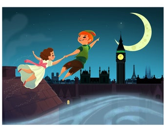 Off to Neverland!