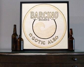 Beer Art - Craft Beer Art - Beer Painting - Barcino Beer Art