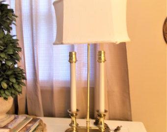 Stiffel Bouillotte Lamp Vintage Bouillotte Lamp Brass Desk Lamp Library Lamp Office Decor Stiffel Lamp