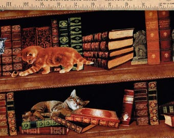 Cats on a Book shelf, Timeless treasures