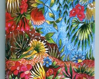 Note book 3. Garden