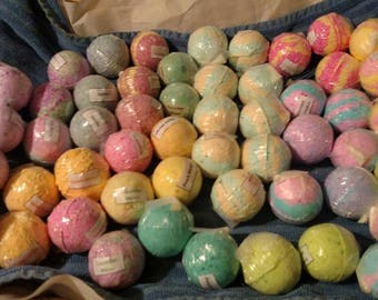 Sale 4 oz Bath Bombs-Made with Coconut Oil-Variety of Colors and Fragrances-Sensitive Skin-Perfect for Kids-Free Shipping over 50