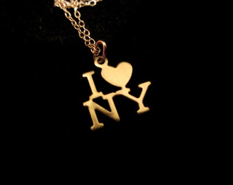 I Heart NY Necklace