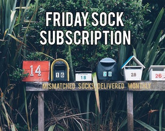 Monthly Sock Club | Sock Subscription