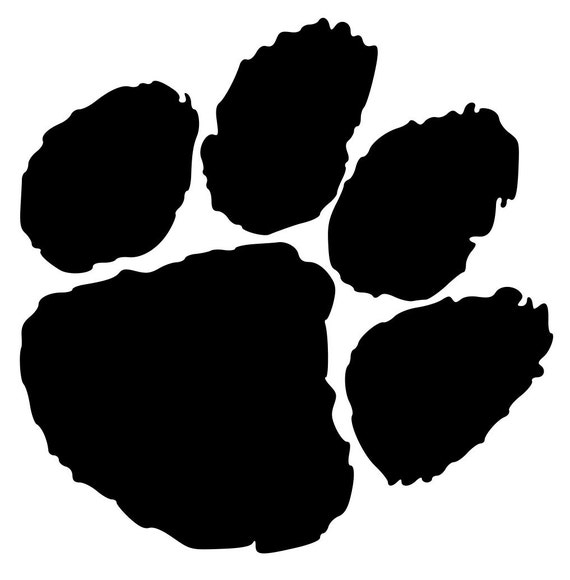 Paw Lion Paw File Design Paw SVG SVG Tiger Mascot Cut Bobcat