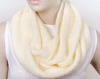 Scarf SALE -Knit chunky  infinity cowl scarf