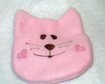 Booboo cat with rice bag hot pack cold pack first aid #4555