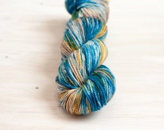 Land and Sea - Squid Worsted - Ready to Ship