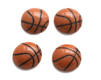Basketball Miniature Sports Resins Flatbacks Cabochons Scrapbooking BM42617