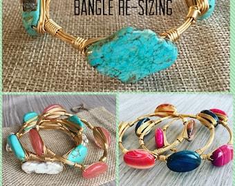 Bangle re-sizing