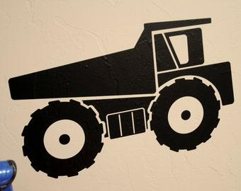 Dump Truck - Wall Decal