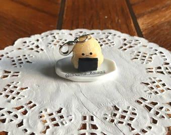 Kawaii Polymer Clay Onigiri/Japanese Rice Ball Charm (Ready to ship)